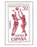Sellos de Europa - España -  SAHARA EDIFIL 246(12 SELLOS)INTERCAMBIO