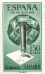 Sellos de Europa - España -  SAHARA EDIFIL  248 (12 SELLOS )INTERCAMBIO