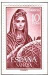 Sellos del Mundo : Europa : España :  SAHARA EDIFIL 235 (1 sello)