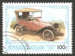 Sellos del Mundo : Africa : Togo : automóvil peugeot de 1913