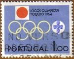 Sellos del Mundo : Europa : Portugal : Juegos Olimpicos TOKYO 1964