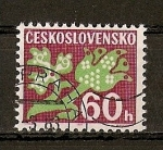 Sellos de Europa - Checoslovaquia -  Sellos Tasa.