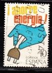 Sellos de Europa - España -  E2510 Ahorro de energía (205)