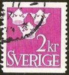 Sellos del Mundo : Europa : Suecia : CORONAS