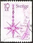 Sellos del Mundo : Europa : Suecia : MEDALLA
