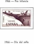 Sellos de Europa - España -  SAHARA EDIFIL 250 (14 SELLOS)INTERCAMBIO