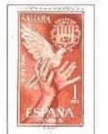 Sellos de Europa - España -   SAHARA EDIFIL 221 (15 SELLOS) INTERCAMBIO