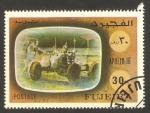 Sellos de Asia - Emiratos Árabes Unidos -  fujeira - apolo 16