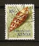 Sellos del Mundo : Africa : Kenya : Conchas.