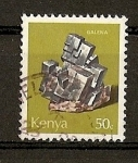 Sellos del Mundo : Africa : Kenya : Minerales.