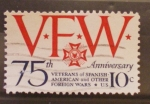 Sellos de America - Estados Unidos -  75 aniv. veterans of spanish-american and other foreigh wars