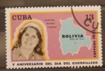 Sellos de America - Cuba -  V aniversario del dia del guerrillero, tamara bunke tania