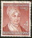 Sellos de Europa - Alemania -  DEUTSCHE BUNDES POST - ELIZABETH FRY