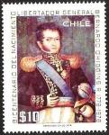 Sellos de America - Chile -  BICENTENARIO DEL NACIMIENTO LIBERTADOR GENERAL BERNARDO OHIGGINS