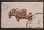 Sellos de Asia - Omán -  coche antiguo