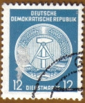Sellos del Mundo : Europa : Alemania : Escudo de la Republica