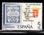 Sellos de Europa - España -  E2549 Aniv.Exposicion de Barcelona (288)