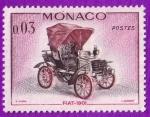 Sellos de Europa - Mónaco -  Fiat - 1901