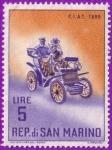 Sellos de Europa - San Marino -  Fiat - 1899