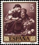 Sellos de Europa - España -  Bartolomé Esteban Murillo