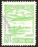 Sellos del Mundo : America : Paraguay : AVION - ADICIONAL AEREO
