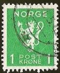 Sellos del Mundo : Europa : Noruega : NORGE - LEON
