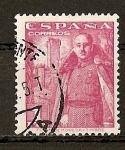 Sellos de Europa - España -  Franco y castillo de La Mota.