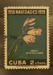 Sellos de America - Cuba -  1958 navidades 1959