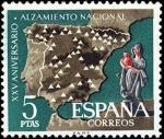 Sellos del Mundo : Europa : España : XXV aniversario del Alzamiento Nacional