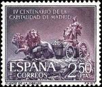 Sellos del Mundo : Europa : España : IV centenario de la capitalidad de Madrid