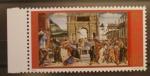Sellos de Europa - Vaticano -  RESTAURACION DE LA CAPILLA SIXTINA, BOTTICELLI, LA PUNIZIONE DI CORE, DATAN E ABIRON