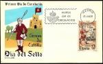 Sellos de Europa - España -  Día del sello - Correos de Castilla -  SPD