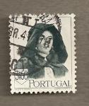 Sellos del Mundo : Europa : Portugal : Mujer con traje típico