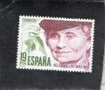 Sellos del Mundo : Europa : España : 2574- HELENKELLER 1880-1968