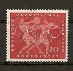 Sellos del Mundo : Europa : Alemania :  Juegos Olimpicos de Roma.