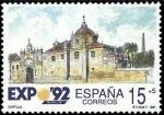 Sellos de Europa - España -  MONUMENTOS E( LA CARTUJA)