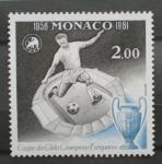 Sellos del Mundo : Europa : Mónaco : liga de campeones futbol