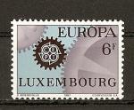 Sellos del Mundo : Europa : Luxemburgo : Tema Europa.