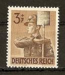 Sellos de Europa - Alemania -  9º Aniv. de la fundacion de la Armada del Trabajo.
