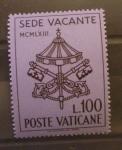 Sellos de Europa - Vaticano -  SEDE VACANTE
