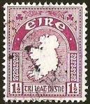 Sellos del Mundo : Europa : Irlanda : MAPA IRLANDA