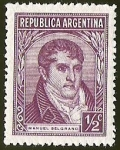 Sellos del Mundo : America : Argentina : MANUEL BELGRANO