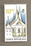 Sellos del Mundo : Europa : República_Checa : Monasterio Emauzy