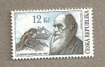 Sellos del Mundo : Europa : República_Checa : 200 años nacimiento Charles Darwin