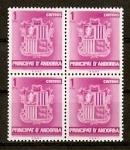 Sellos de Europa - Andorra -  Escudo de Andorra.
