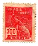 Sellos de America - Brasil -  BRASIL