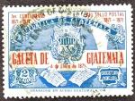 Sellos del Mundo : America : Guatemala : 1ER. Centenario del Sello Postal Gaceta de Guatemala