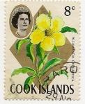 Sellos del Mundo : Oceania : Pitcairn : Flores de Cook Islands