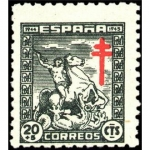 Sellos de Europa - España -  PRO TUBERCULOSIS