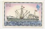 Sellos del Mundo : Oceania : Islas_Salomón : Barcos-Falkland Islands